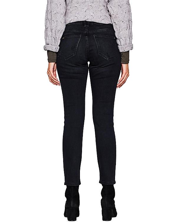 edc by ESPRIT Jeans Skinny black denim