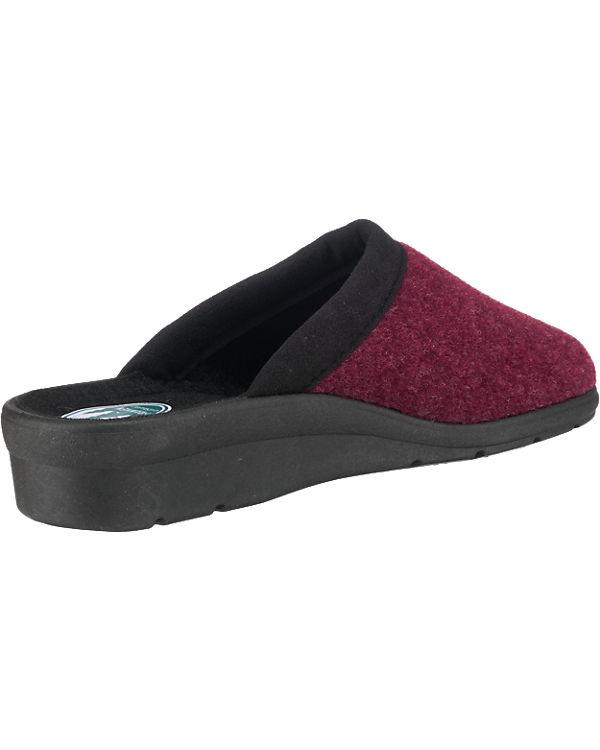 Franken-Schuhe Franken-Schuhe Hausschuhe rot