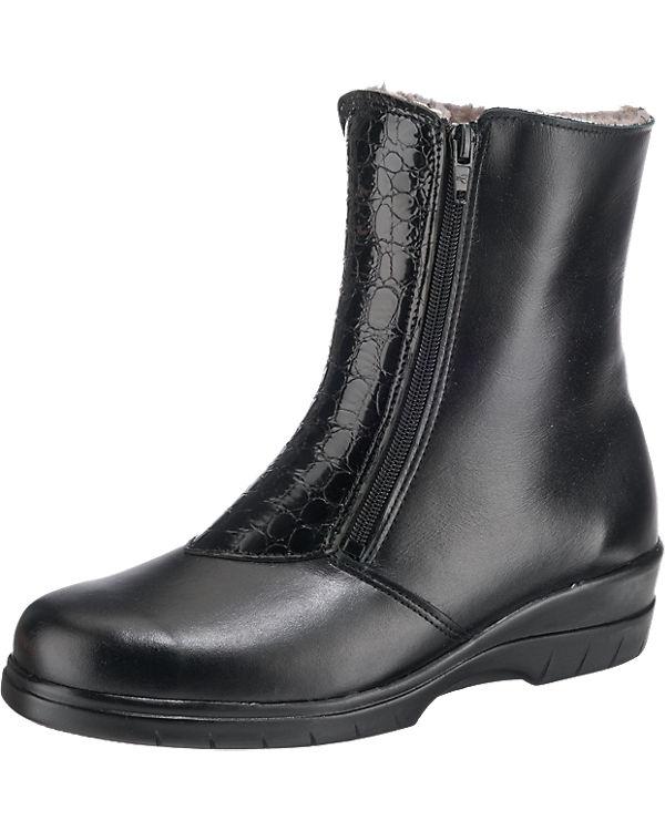 Franken-Schuhe Winterstiefeletten schwarz