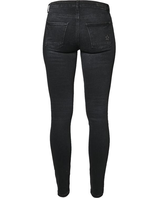 ESPRIT Jeans Skinny schwarz