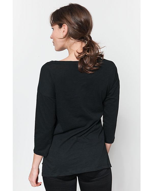ESPRIT Longshirt schwarz