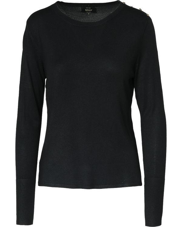 ONLY Pullover schwarz