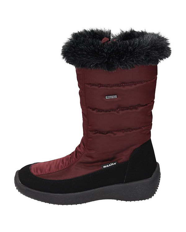 Polar Tex Stiefel Polar Tex rot pxY8wFxf