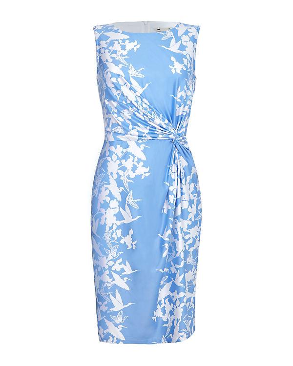 Yumi Kleid blau/weiß