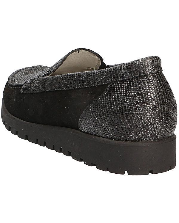 WALDLÄUFER WALDLÄUFER Comfort Slipper schwarz