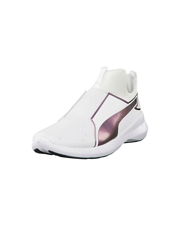 PUMA PUMA Sneakers Sneaker Rebel Mid Wns Swan 364556-02 weiß-kombi