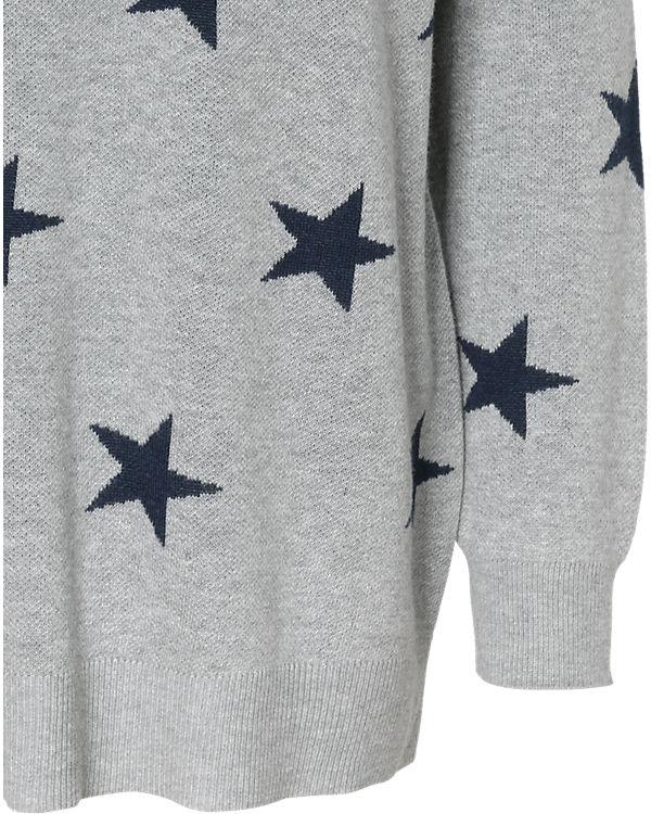 VERO MODA Pullover blau/grau