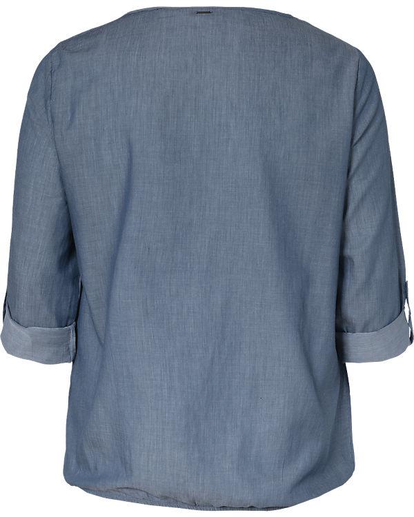 TRIANGLE Bluse dunkelblau