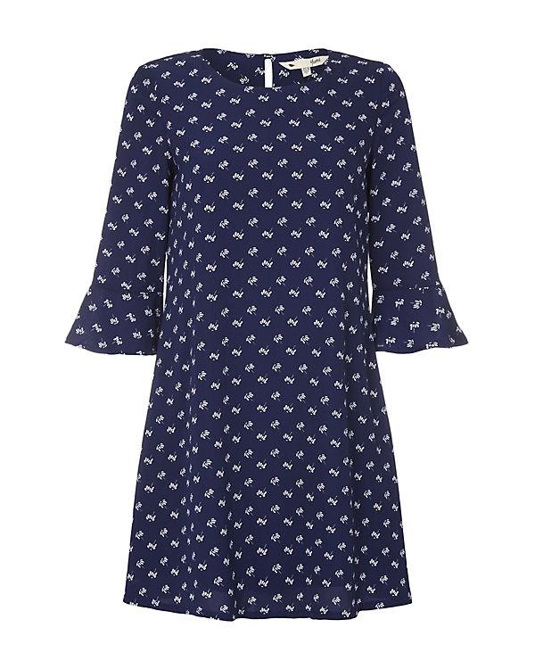 Yumi Kleid blau-kombi