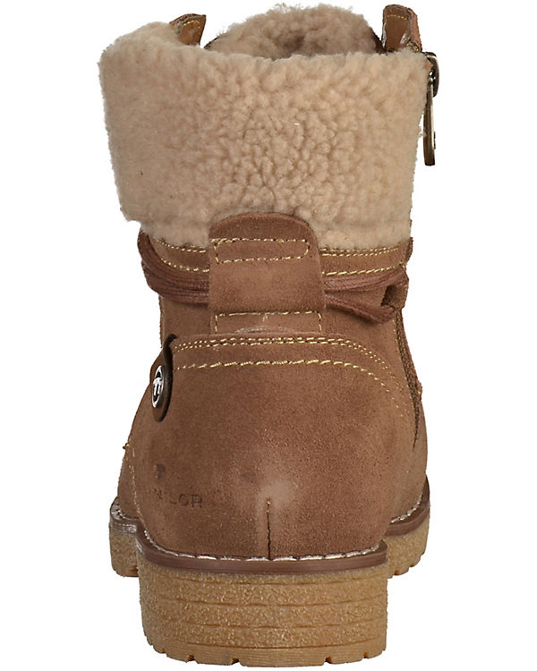 TOM TAILOR Stiefeletten TAILOR Stiefeletten Warmfutter TOM TOM TAILOR beige TAILOR TOM Warmfutter AYqwBASr