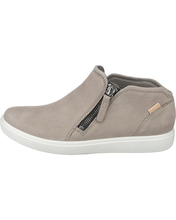 Slip Samba ecco Sneaker 7 Grey On Soft Warm Powder Cha grau Ladies qT0Hqw8