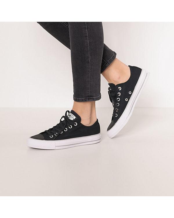 Taylor CONVERSE Ox Star Sneakers schwarz Chuck All AUnZSrFU