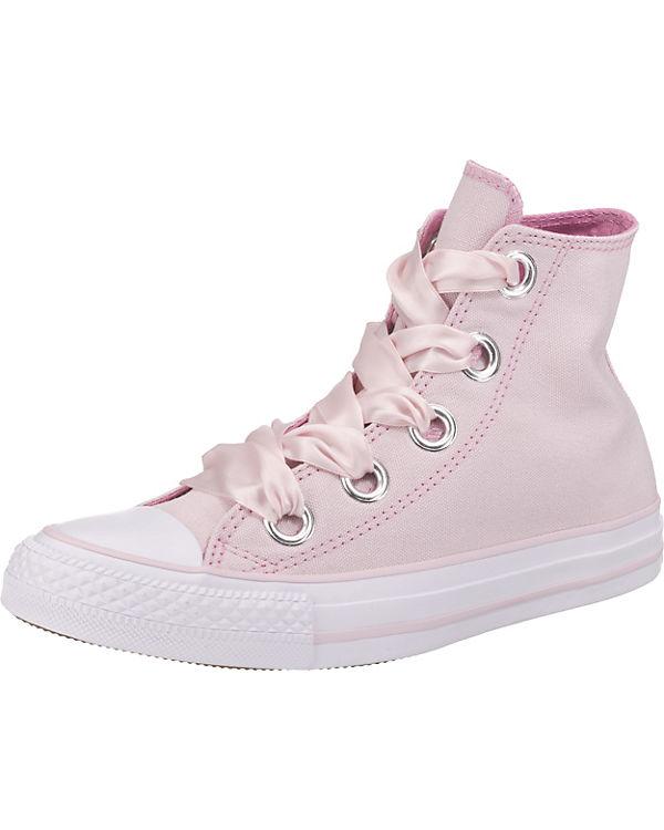 CONVERSE Chuck Taylor All Star Big Eyelets Hi Sneakers rosa