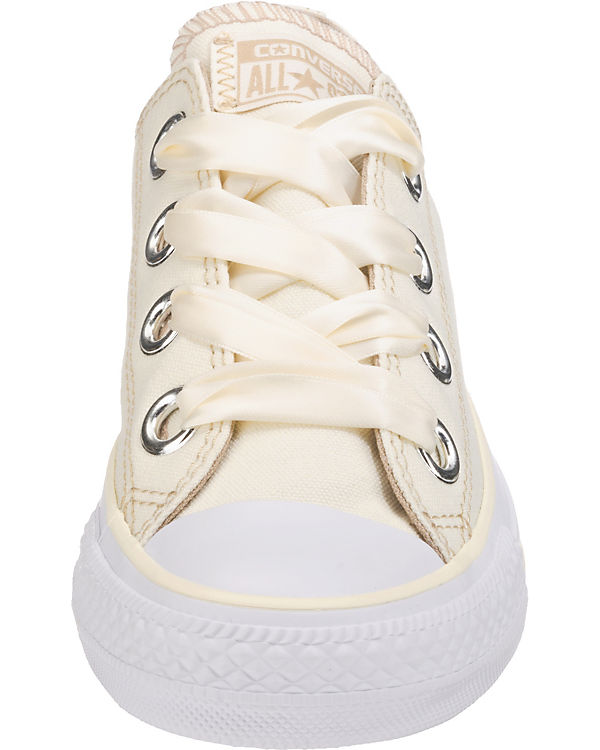 CONVERSE Chuck Taylor All Star Big Eyelets Ox Sneakers beige