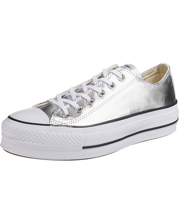 f52ceca194a CONVERSE Chuck Taylor All Star Lift Ox Sneakers silber Austritt Aus  Deutschland Footlocker Finish Verkauf Online