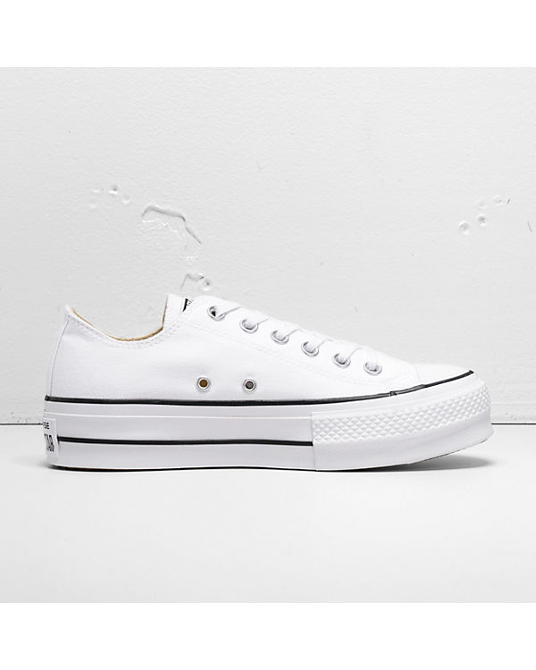 Sneakers Star Chuck Lift CONVERSE weiß All Low Ox Taylor qYz6t