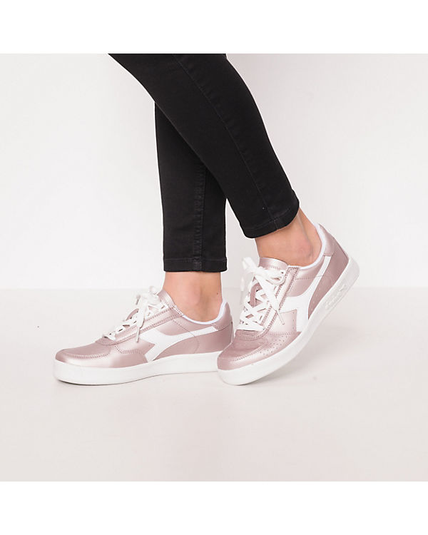 rosa B Diadora Sneakers Elite Diadora L Metallic RzFwYHq