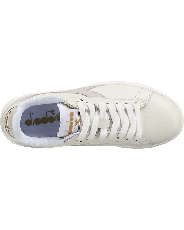 Diadora Diadora Game Wide L Sneakers weiß Sast Günstiger Preis Spätestens Zum Verkauf K0vy5