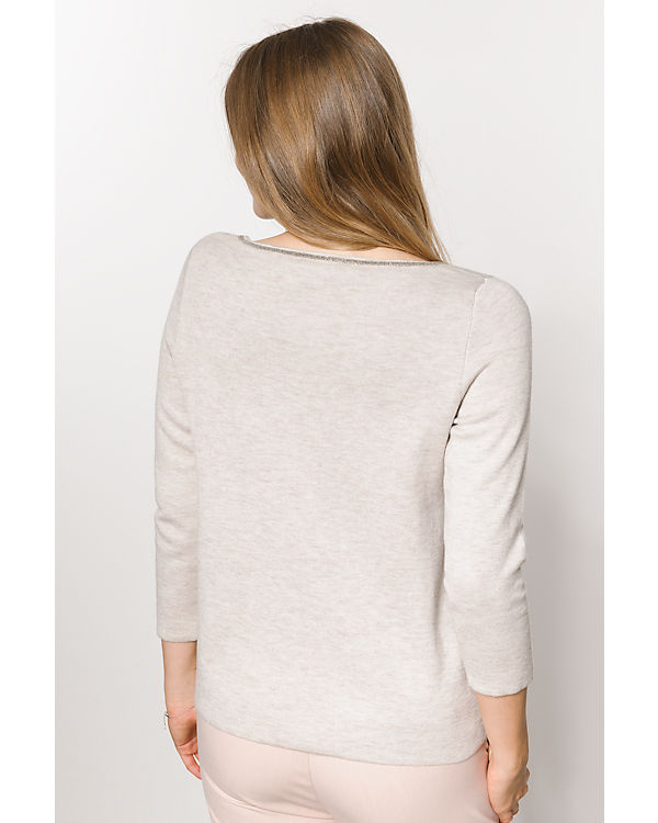 comma Pullover beige