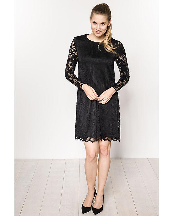 schwarz VILA VILA Kleid Kleid q5xxTtz8
