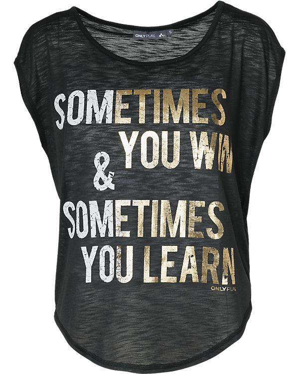 Only Play T-Shirt schwarz