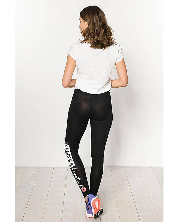 Only Play Leggings schwarz
