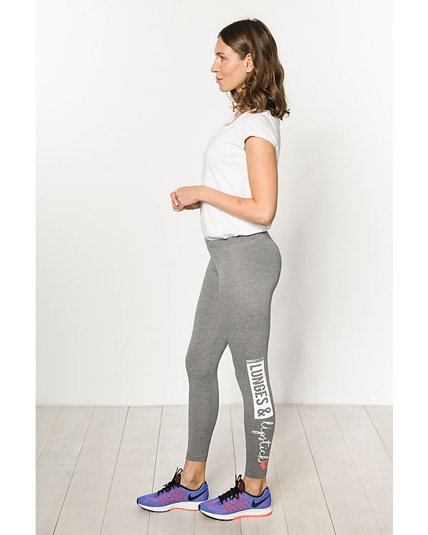 Only Play Leggings grau