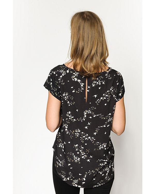 ONLY Blusenshirt schwarz-kombi
