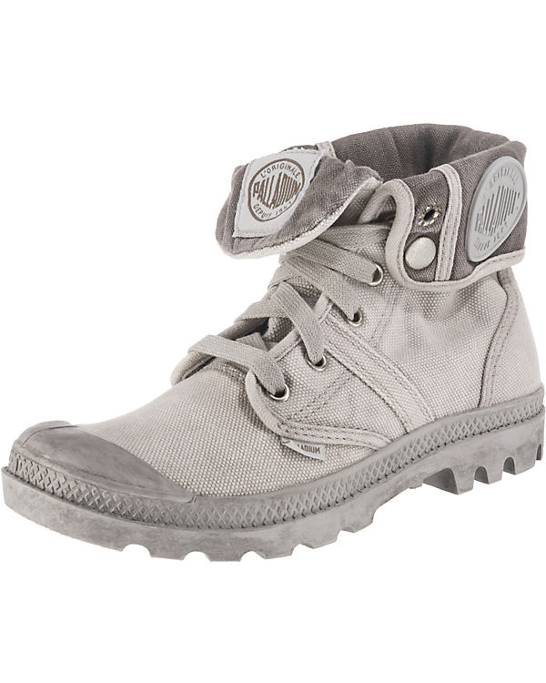 Palladium Pallabrouse Baggy Sneakers grau