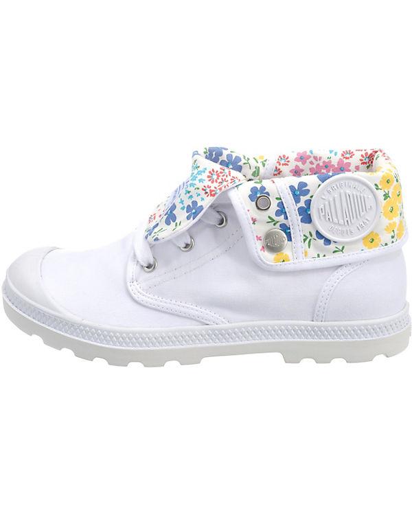 kombi Low Baggy weiß Lp Sneakers Palladium nYaFUvx