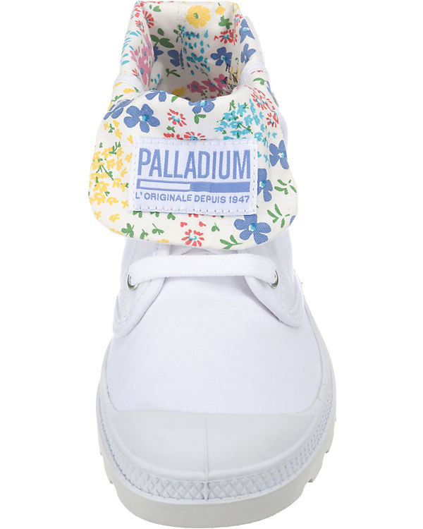 kombi Low Baggy weiß Lp Sneakers Palladium nYaFUvx
