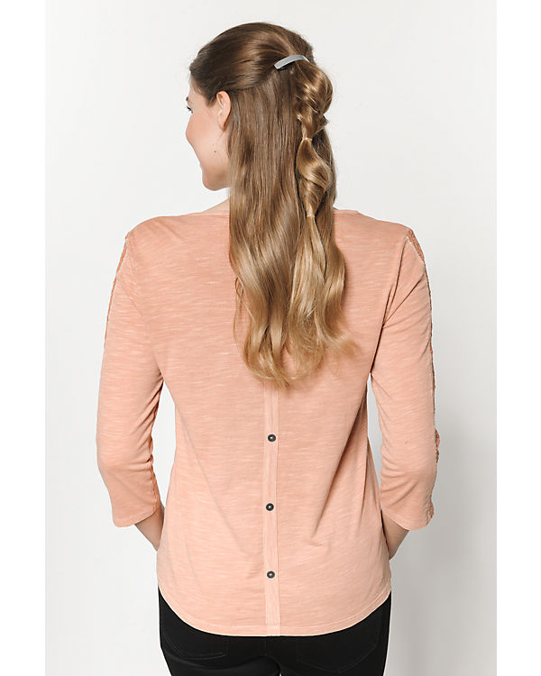 ONLY 3/4-Arm-Shirt rosa