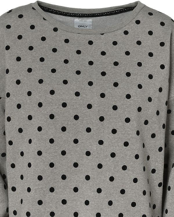 hellgrau Sweatshirt hellgrau ONLY Sweatshirt ONLY ONLY HqBFwnx70E