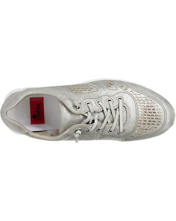 silber kombi rieker Sneakers Sneakers kombi rieker rieker rieker silber 4aqdnw