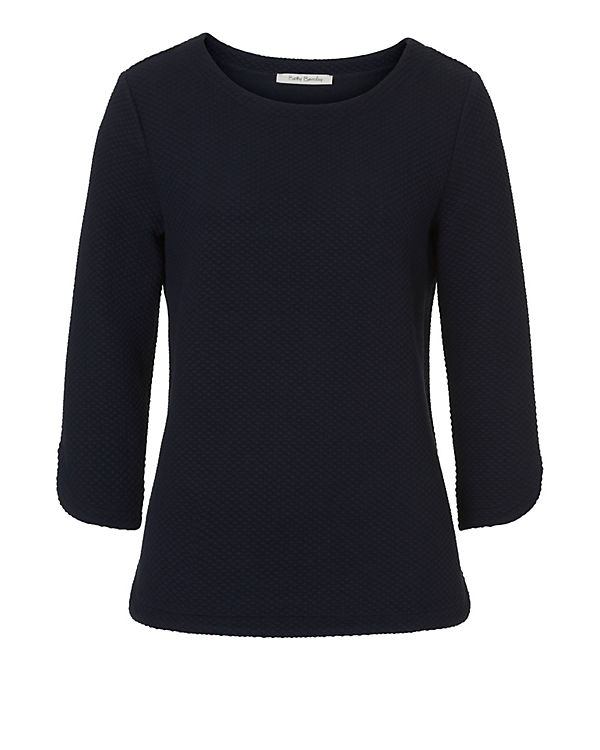 Betty Barclay 3/4-Arm-Shirt dunkelblau
