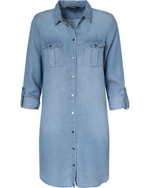 VERO MODA Jeanskleid light blue denim