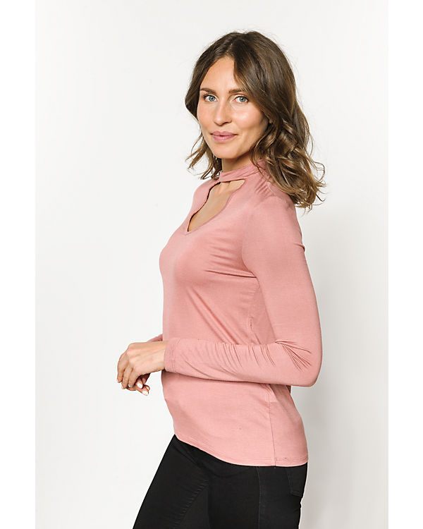 pieces Langarmshirt rosa