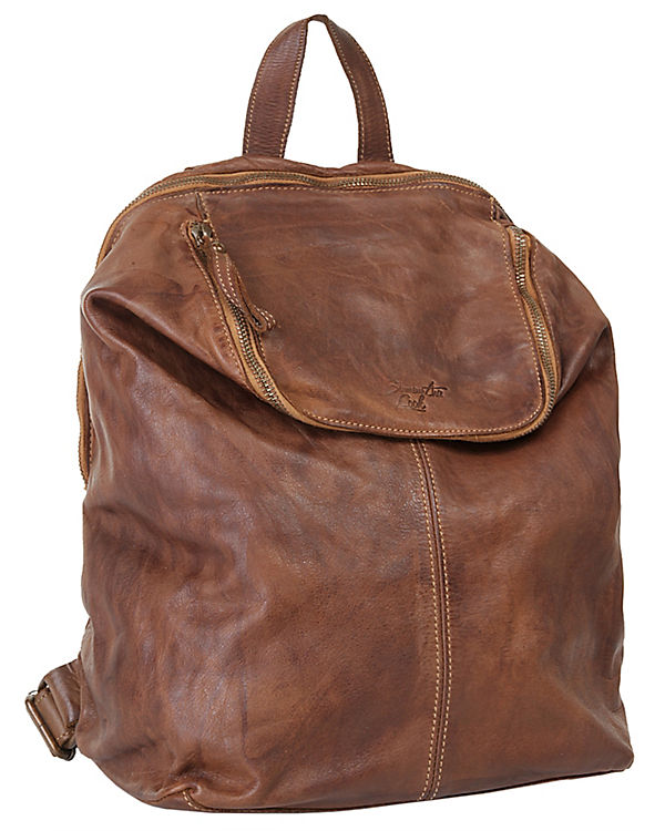 Samantha Look Samantha Look City Rucksack cognac