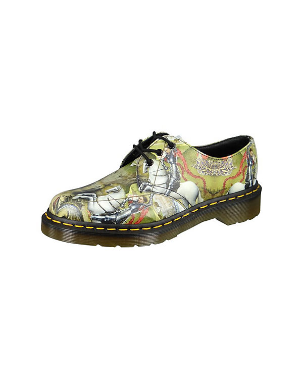 George mehrfarbig The And Martens Print Dr Halbschuhe Dragon gq1EFwA