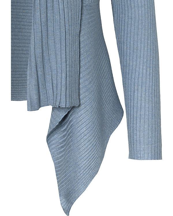 ESPRIT Strickjacke blau