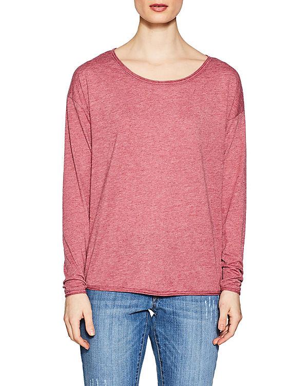 ESPRIT Langarmshirt pink