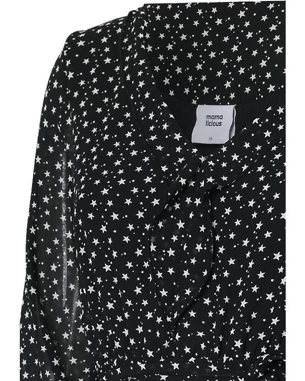 mamalicious Umstandskleid MLSTAR schwarz-kombi