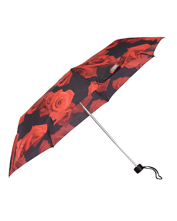 Happy Rain Regenschirm Happy Rain Alu Light rot-kombi