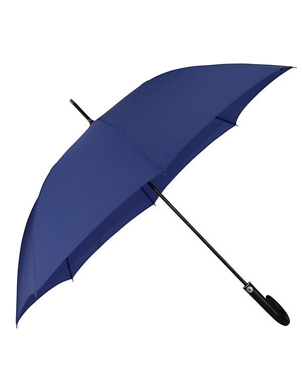 Happy Rain Regenschirm Happy Rain Long AC blau