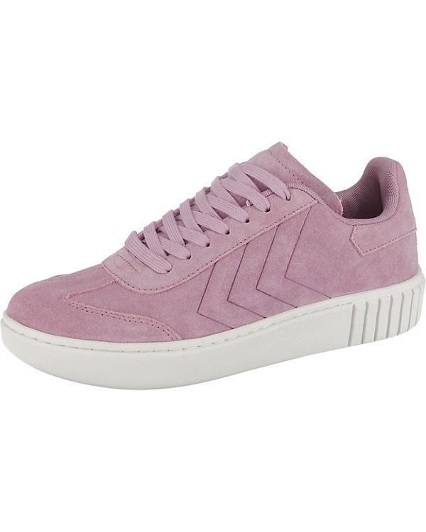 hummel Aarhus Sneakers Low Classic flieder Low zvzqAr