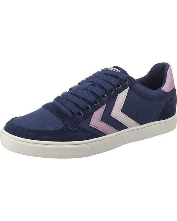 hummel Slimmer Stadil Duo Canvas Low Sneakers Low blau-kombi