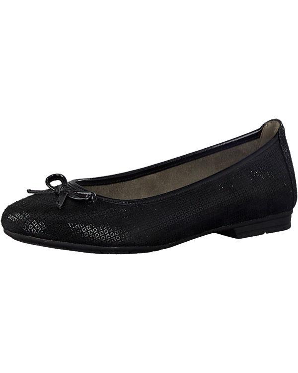 Jana Jana Ballerinas schwarz Komfort Komfort gq61wzgY