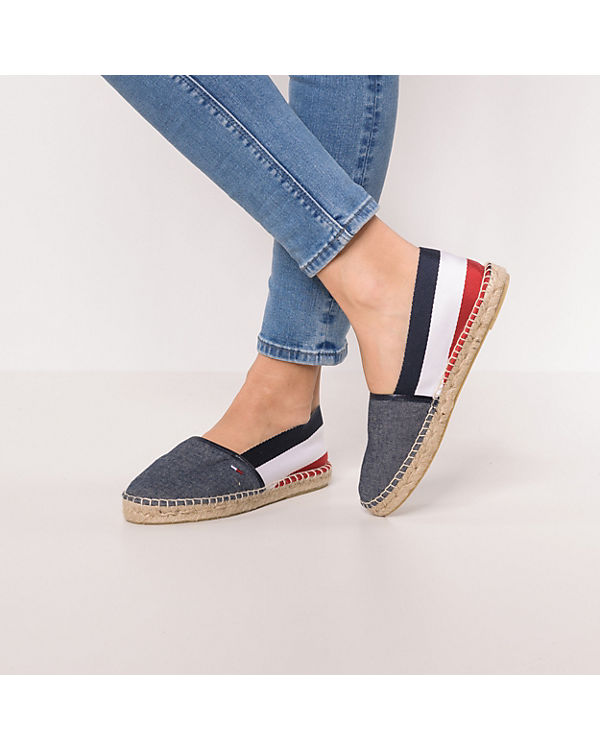 TOMMY JEANS Corporate Flat TJ Espandrille Espadrilles mehrfarbig