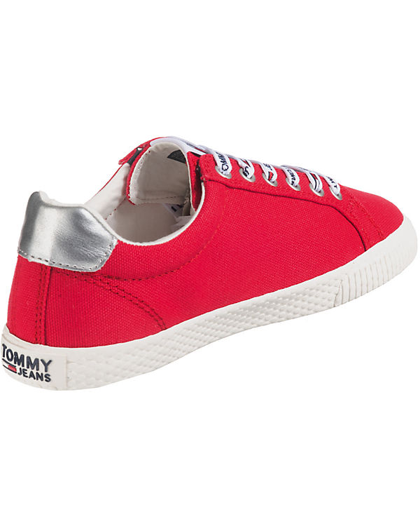 TOMMY JEANS, TOMMY JEANS Casual Sneaker Sneakers Sneakers Sneakers Low, rot 988b40