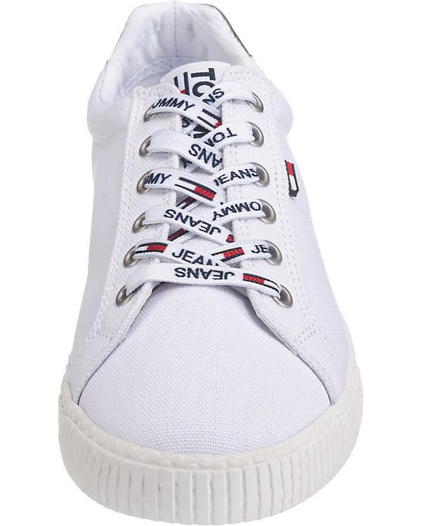 TOMMY TOMMY TOMMY Sneakers JEANS Low JEANS wei Casual Sneaker JEANS rqtrawcH